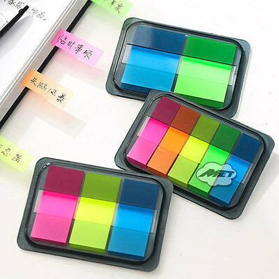 PET Colorful Sticker Post It Bookmark Point It Marker Memo Flags Sticky Notes 2#