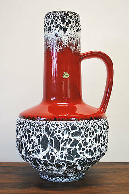 FAT LAVA VASE ....JOPEKO 60/70´s DESIGN