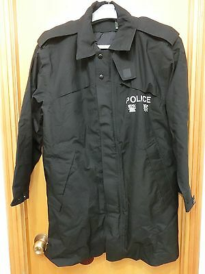Genuine Obsolete Royal Hong Kong Police Force Gore-Tex Coat Original Issue