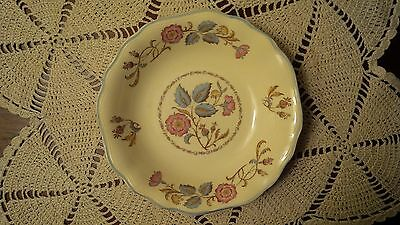 J&G Meakin China Fruit Bowl ~ Sunshine ~ Pastel Rose Pattern, Mfg in England