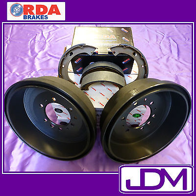 RDA Rear Brake Drums & Shoes MITSUBISHI TRITON ML 10/2005 onwards