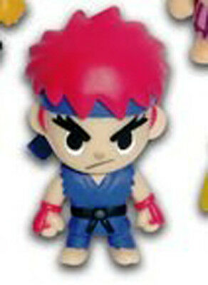 Street Fighter Ryu Red Ver. Mascot Licensed Key Chain NEW
