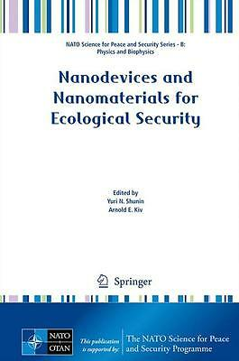 Nanodevices and Nanomaterials for Ecological Security - Yuri ... 9789400741188