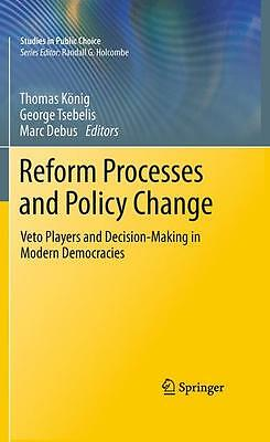 Reform Processes and Policy Change - Marc Debus - 9781461426790