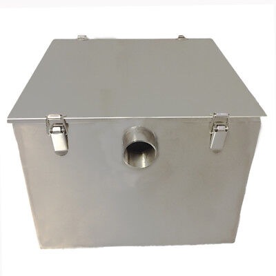 Grease Traps Commercial Stainless steel 9 Kilo 45 Litre Fat Trap Filter Waste