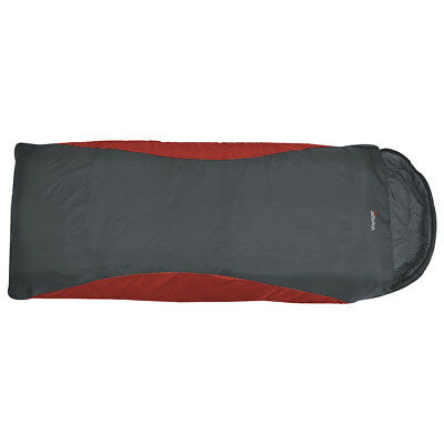 Highlander Voyager Super Lite Xl 2/3 Season Large Sleeping Bag Scarlet Gunmetal