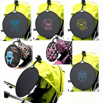 My Buggy Buddy Sunshade Clip on UPF50+ Pushchair Pram Car shade