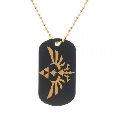 Nintendo Zelda Metal Dog Tag Licensed  Necklace