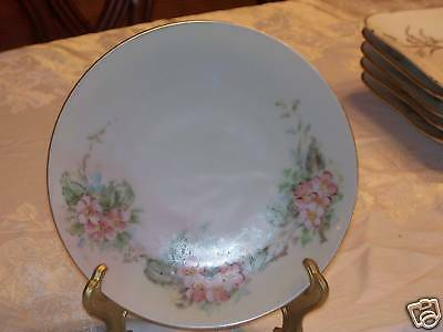 """H&Co Bavaria Germany 71/2"""" Porcelain Hand Painted Plate"""
