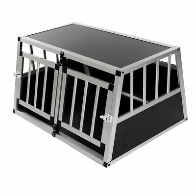 Aluminium Hundetransportbox Transportbox Alubox Reisebox Hundebox Kofferraum Box
