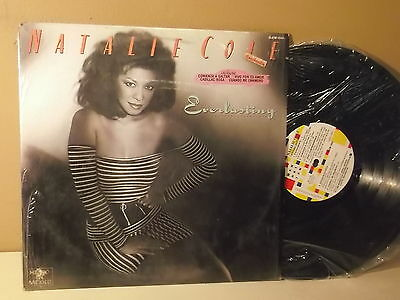 """Natalie Cole """" Everlasting """" Jump start"""" LP VG+ MEXICAN EDITION"""
