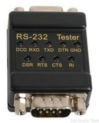 CABLE TESTER, DB-9 / RS-232 - Part Number 72-9200