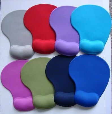 Soft Mouse Pad Comfort Wrist Gel Mat For Optical Laptop Mouse Mice