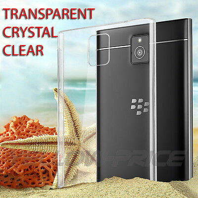 Imak Thin Transparent Clear Hard Back Case Cover For BlackBerry Passport Q30