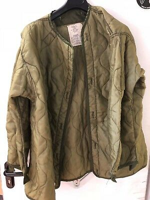 US Army M65 M-65 Liner Cold Weather Coat Futter Medium gebraucht !!!!