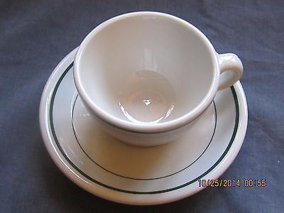 1 Cup and Saucer Set by Shenango China