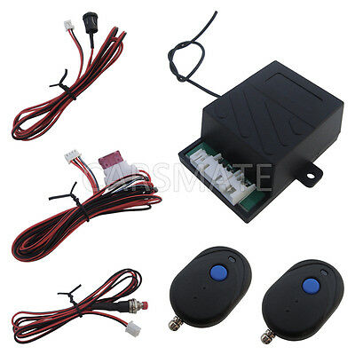 Universal Car Engine Immobilizer With RFID Transmitters Progressive Double Stage
