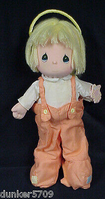 PRECIOUS MOMENTS 1986 LITTLE DEVIL AND ANGEL 11 1/2 INCH DOLL APPLAUSE