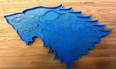 House of Stark Wolf Cookie Cutter - Choice of Sizes - Game of Thrones