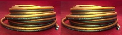 40 ft:2 Rolls of 10 gauge 20 foot Speaker wire 100% Oxygen Free Copper OFC cable