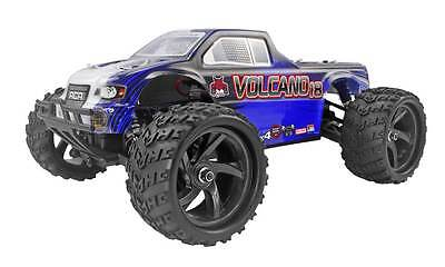 Redcat Racing Volcano 1/18 Scale Electric Remote Control RC Monster Truck Blue