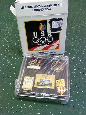 J C Penney, 1992, Olympic Pin Collectors Set