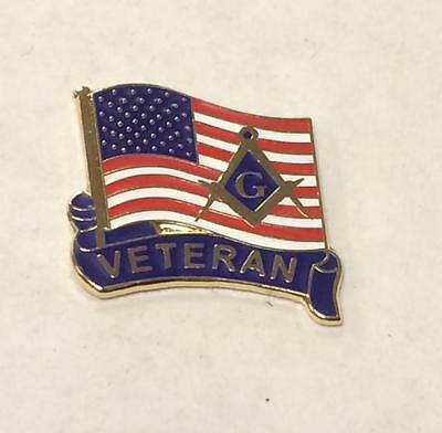 Masonic Lapel Pin(VET)