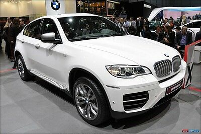 suitable for BMW X6 E71 2009-2014 aluminium running board side step Nerf bar