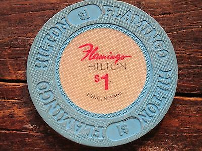 Flamingo Hilton $1 Casino Chip Reno NV