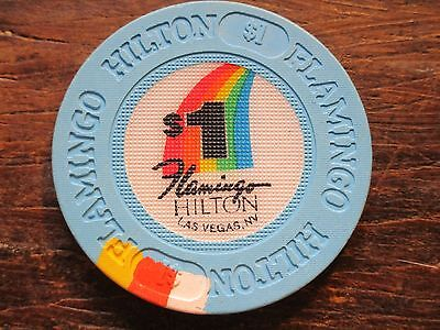 Flamingo Hilton Las Vegas NV $1 Casino Chip Uncirculated