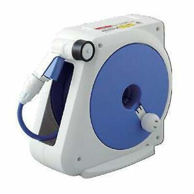 NEW TAKAGI 10M Compact Premium Hose Reel with adjustable pistol Made in Japan