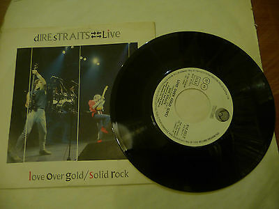 "DIRE STRAIT""LOVE OVER GOLD/LIVE-disco 45 giri VETIGO Italy 1983"""