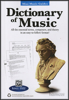 Dictionary of Music Mini Music Guides Essential Terms, Composers, Theory