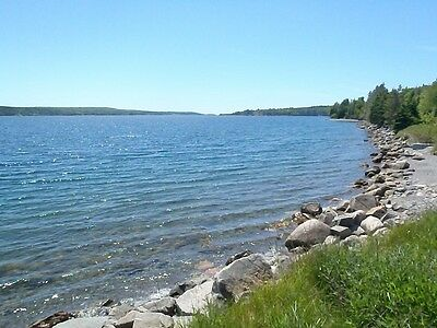 5.52 Ac RESIDENTIAL LOT of LAND with 325' of OCEAN FRONT on the BRAS D'OR LAKES
