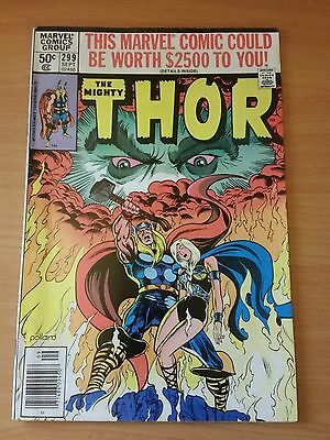 The Mighty Thor #299 ~ FINE - VERY FINE VF ~ 1980 MARVEL COMICS