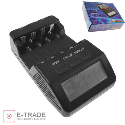 BEST BC800 BC-800 INTELLIGENT Battery Charger Analyser for AA and AAA batteries