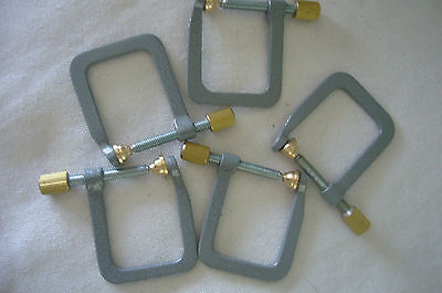5pcs High quality Violin Luthier Repairing Tool--Metal Square Clamps