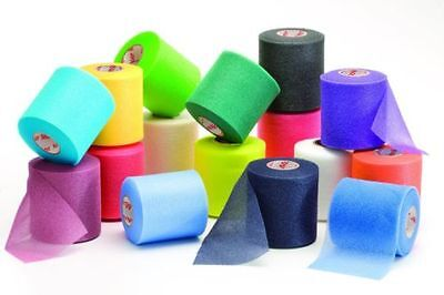 Mueller Pre Wrap Hair Wrap 12 Rolls Assorted Colors Soccer & Sports