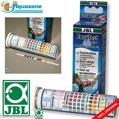 JBL EasyTest 6in1 * 50 test strips * TEST KIT KH pH GH FAST DELIVERY *NEW