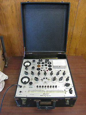 Hickok 539C Tube Tester w/ Manual Excellent Condition Free Shipping