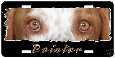 "Pointer  lemon "" The Eyes Have It "" License Plate"
