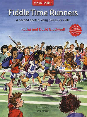Fiddle Time Runners Violin Book 2 New Revised Edition Kathy & David Blackwell