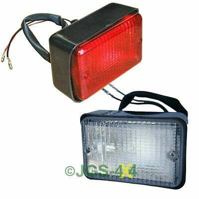 Land Rover Defender Fog & Reverse Light Set Rectangular - PRC7254/PRC7263