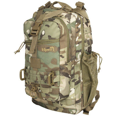 Viper Army Tactical Midi Pack Molle Rucksack Hydration Patrol Backpack 22L V-Cam