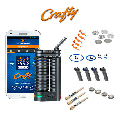 NEW Crafty Portable Handheld Vaporizer by Volcano Storz & Bickel - Spare Parts