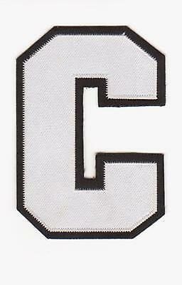 2013/2014 CAPTAIN C PATCH FOR PHILADELPHIA FLYERS  NHL JERSEY CLAUDE GIROUX