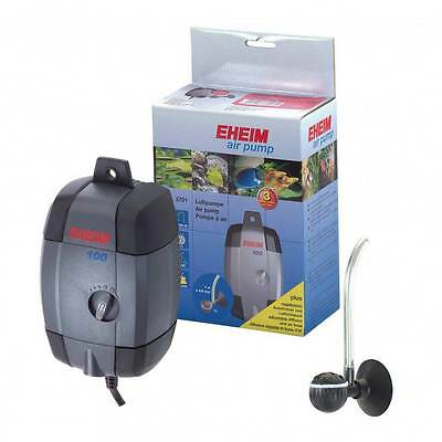Eheim Fish Tank Air Pump 100,200,400 + Airline + Airstone Diffuser Aquarium