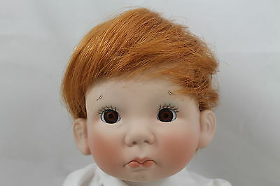 """MONIQUE WIG, """"TEENY WEENIE"""" SIZE 9-10, CARROT, MODELED ON A LEE MIDDLETON DOLL"""
