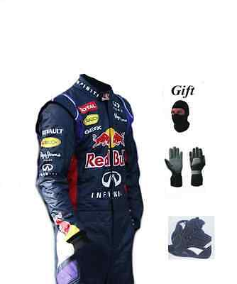 Red Bull kart race suit KIT CIK/FIA level 2 2014 style(free gifts)