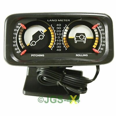 Off Road 4x4 Inclinometer Land Gauge Clinometer Land Rover Pitch And Roll Meter